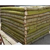 Hochbeet aus naturbelassenem Holz